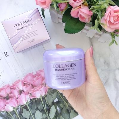 JIGOTT Collagen Healing Cream Ночной омолаживающий крем для лица с коллагеном