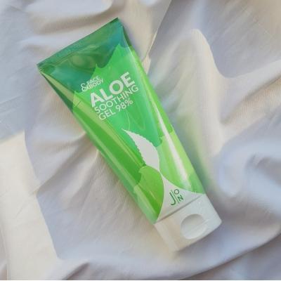 J:ON Face & Body Aloe Soothing Gel 98% Многофункциональный гель для лица и тела с экстрактом алоэ