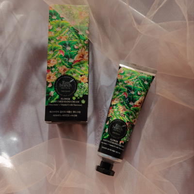 Eco Branch Flower  Perfumed Hand Cream Крем для рук с экстрактом нарцисса и маслом Ши