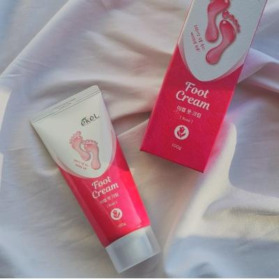 Ekel Foot Cream Крем для ног Рс экстрактом розы