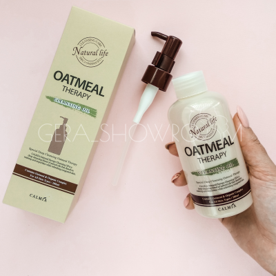 Calmia Oatmeal Therapy Cleansing Oil Гидрофильное масло на основе овсянки