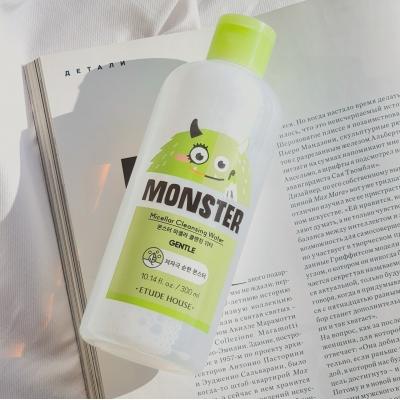 Мицеллярная вода Etude House Monster Micellar Cleansing Water c экстрактом алоэ