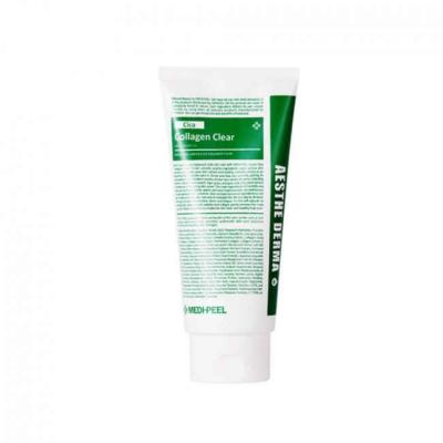 MEDI-PEEL Green Cica Collagen Clear Успокаивающая очищающая пенка для умывания