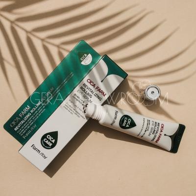 FarmStay Cica Farm Revitalizing Rolling Eye Serum Восстанавливающая сыворотка для кожи вокруг глаз с центеллой азиатской
