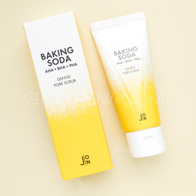 J:ON Baking Soda Gentle Pore Scrub содовый скраб для лица