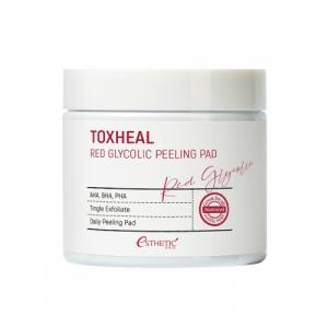 Estetic House Toxheal Red Glycolic Peeling Pad Пилинг-пэды с гликолевой кислотой