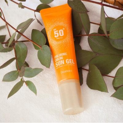 Deoproce Hyaluronic Cooling Sun Gel Spf50++ Гель солнцезащитный освежающий