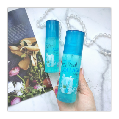 FarmStay  It Is Real Gel Mist Collagen  гелевый мист для лица с коллагеном