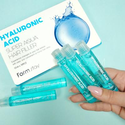 FarmStay Hyaluronic Acid Super Aqua Hair Filler Увлажняющий филлер для сухих волос