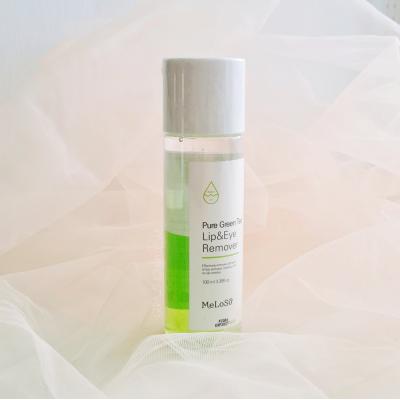 Meloso Pure Green Tea Lip & Eye Remover Успокаивающее средство для снятия макияжа
