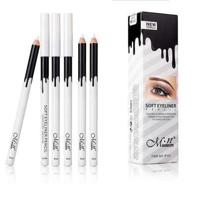 MeNow Soft Eyeliner Pencil белый карандаш для глаз