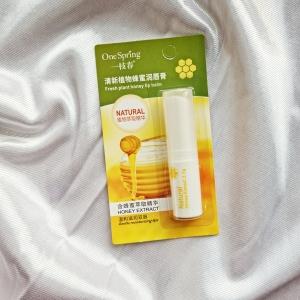 Бальзам для губ с медом One Spring Natural Lip Honey Extract