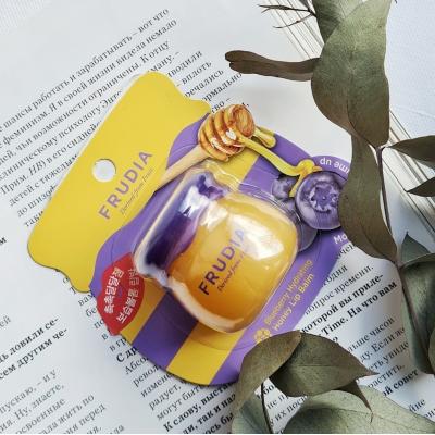 FRUDIABlueberry Hydrating Honey Lip Balm Бальзам для губ с медом и экстрактом черники