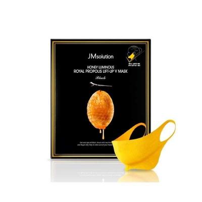 JMsolution Honey Luminous Royal Propolis Lift-up V Mask Маска для подтяжки контура лица с маточным молочком