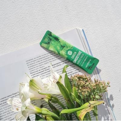 Verobene Green Smoothie Bubble Mask Кислородная маска смузи для лица с зелёным комплексом