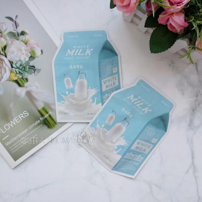 A-PIEU Pure Milk One-Packсмягчающая маска  с экстрактом молока и алоэ
