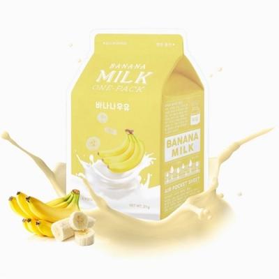 A-PIEU  Banana Milk One-Pack питательная  маска с  экстрактом банана