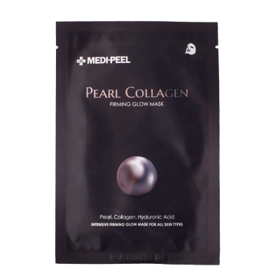 MEDI-PEEL Pearl Collagen Mask Разглаживающая маска с жемчугом и коллагеном