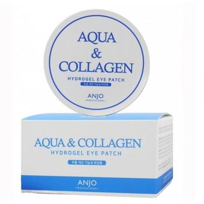 ANJO Aqua & Collagen Hydrogel Eye patch Увлажняющие гидрогелевые патчи с коллагеном и гиалуроновой кислотой