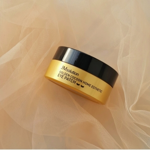 JMsolution Golden Cocoon Home Esthetic Eye Patch Гидрогелевые патчи с шёлком и золотом