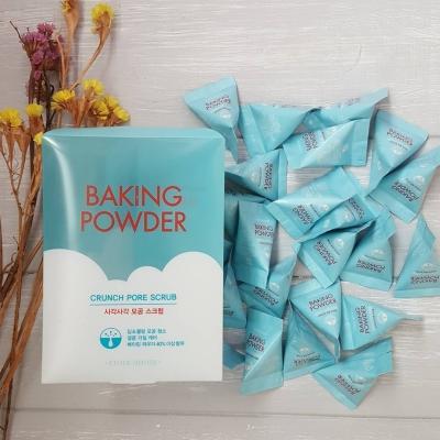 Etude House Baking Powder Crunch Pore Scrub скраб для лица упаковка 24 шт